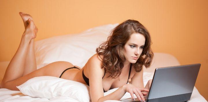 Online thuiswerken in de erotische branche
